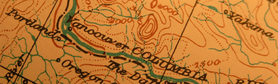 Old Oregon Map